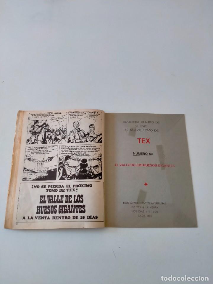 Cómics: Tex número 59 Buru Lan Ediciones Año 1972 - Foto 10 - 277225503