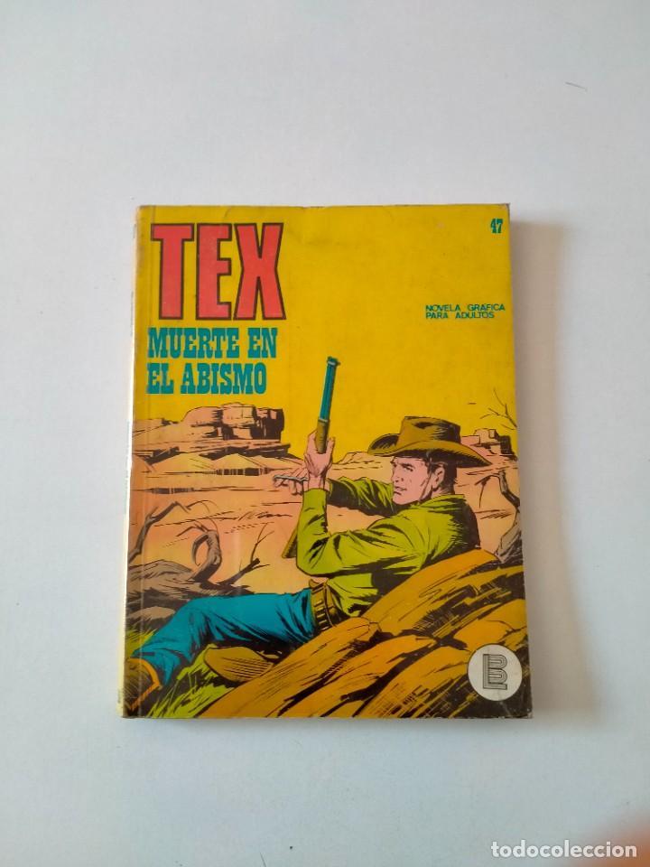 TEX NÚMERO 47 BURU LAN EDICIONES AÑO 1972 (Tebeos y Comics - Buru-Lan - Tex)