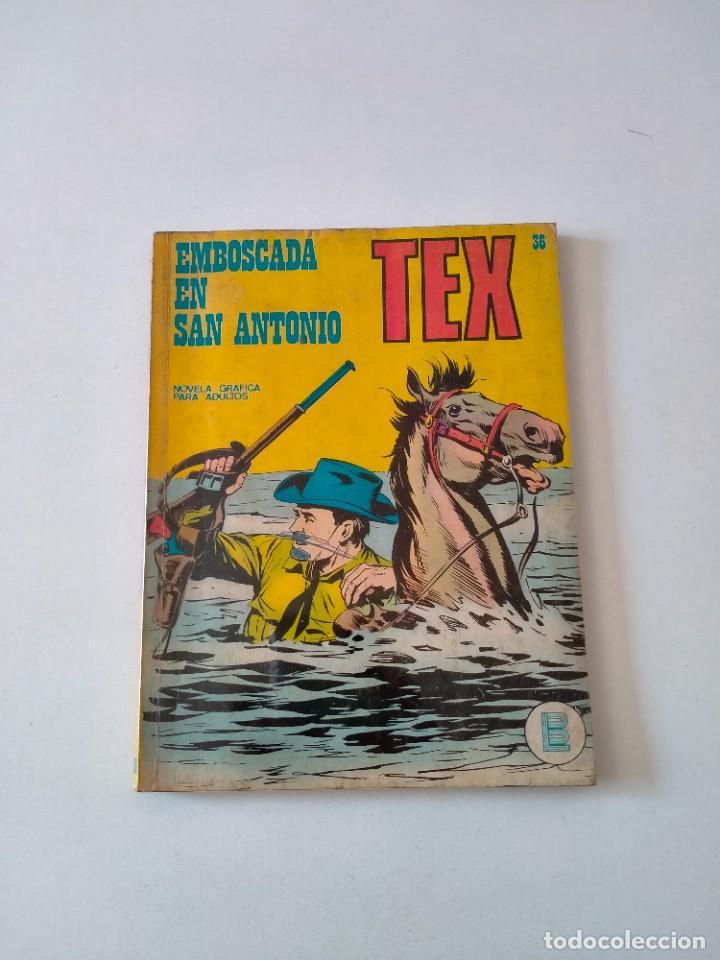 TEX NÚMERO 36 BURU LAN EDICIONES AÑO 1972 (Tebeos y Comics - Buru-Lan - Tex)