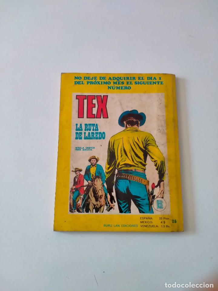 Cómics: Tex número 36 Buru Lan Ediciones Año 1972 - Foto 2 - 277228763