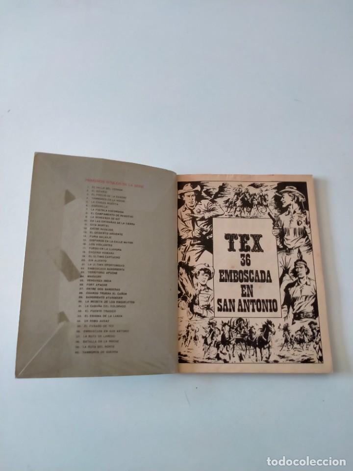 Cómics: Tex número 36 Buru Lan Ediciones Año 1972 - Foto 4 - 277228763