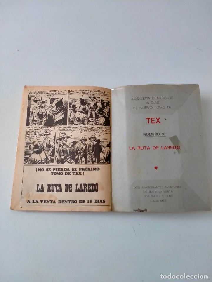 Cómics: Tex número 36 Buru Lan Ediciones Año 1972 - Foto 9 - 277228763