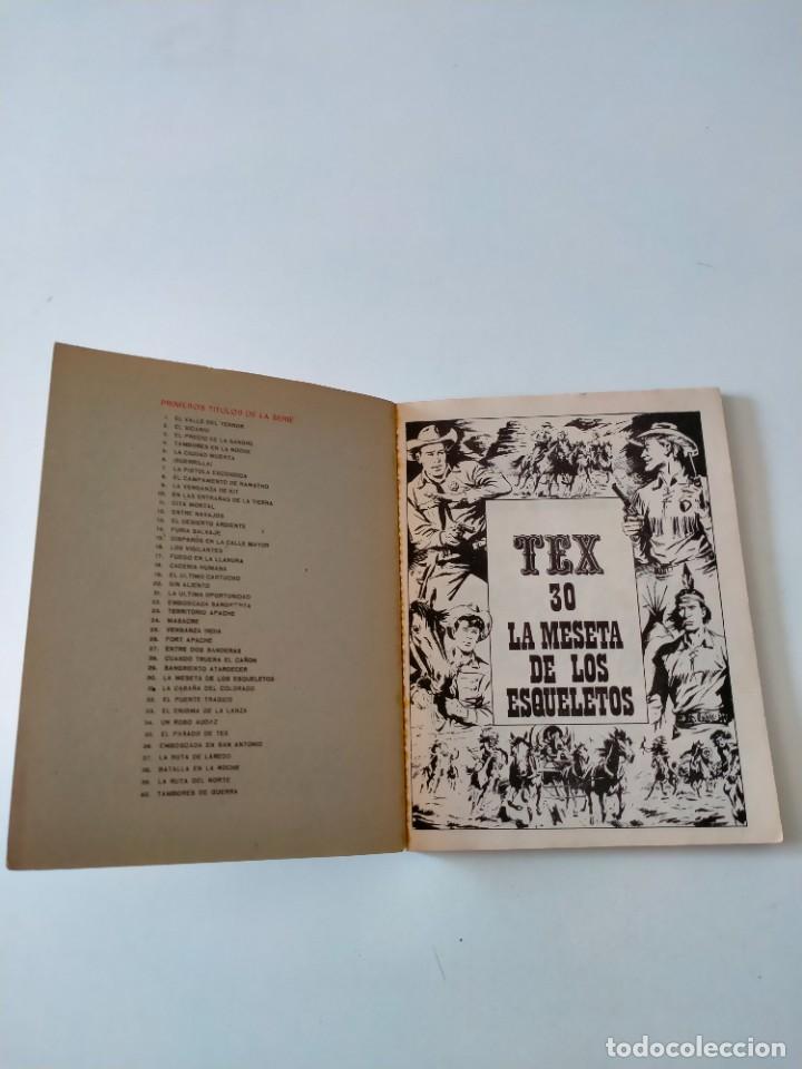 Cómics: Tex número 30 Buru Lan Ediciones Año 1971 - Foto 4 - 277229728