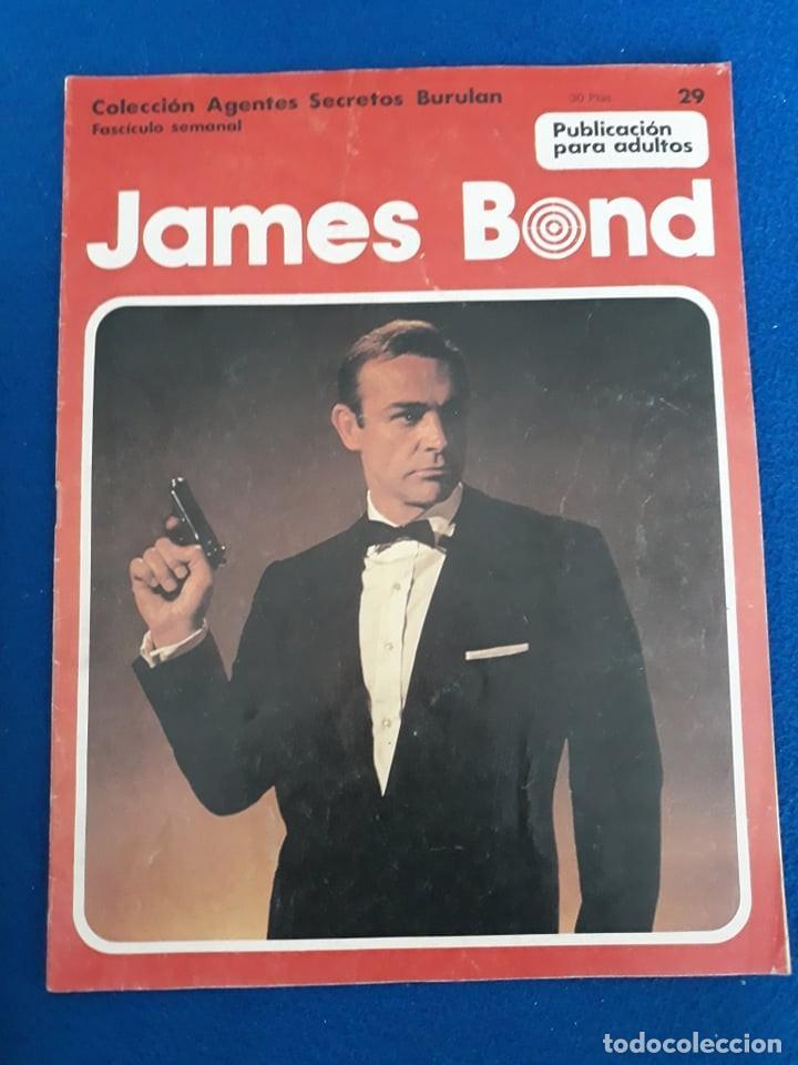 JAMES BOND: TRATAMIENTO DE SHOCK (COMPLETO EN 6 FASCÍCULOS) - BURU LAN (Tebeos y Comics - Buru-Lan - James Bond)