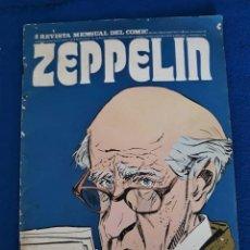 Cómics: ZEPPELIN Nº 3 - REVISTA MENSUAL DEL CÓMIC. Lote 277616243