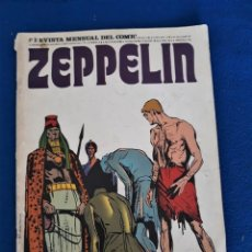 Cómics: ZEPPELIN Nº 8 - REVISTA MENSUAL DEL CÓMIC. Lote 277616353