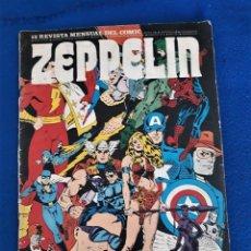 Cómics: ZEPPELIN Nº 12 - REVISTA MENSUAL DEL CÓMIC. Lote 277616788