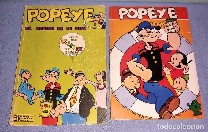 COMICS DE POPEYE Nº 2-6 DE BURULAN AÑOS 70 (Tebeos y Comics - Buru-Lan - Popeye)