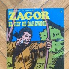 Cómics: ZAGOR Nº 65. Lote 278265618