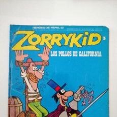 Cómics: CÓMIC ZORRYKID LOS POLLOS DE CALIFORNIA DE BURU LAN. Lote 278365783