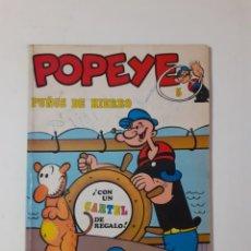 Cómics: POPEYE. PUÑOS DE HIERRO. BURU LAN. NUMEROSAS RAYAS DE BOLÍGRAFO. PEDIDO MÍNIMO 5 EUROS.. Lote 278520838
