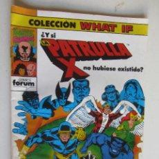 Cómics: WHAT IF VOL. 1 Nº 14: ¿Y SI LOS 4 FANTÁSTICOS NO HUBIESEN OBTENIDO SUS SUPER PODERES? FORUM ARX123. Lote 278567703