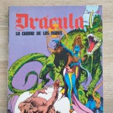 Cómics: DRACULA LA CIUDAD DE LAS NUBES EDIC. BURU LAN 1974. Lote 278975598