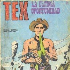 Cómics: TEX Nº21. BURU LAN, 1971. Lote 278975603