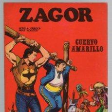 Comics: ZAGOR. Nº 4. CUERVO AMARILLO. COLECCION ZAGOR. BURU LAN 1971. Lote 279562578