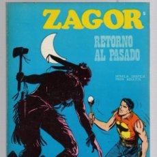 Comics: ZAGOR. Nº 9. RETORNO AL PASADO. COLECCION ZAGOR. BURU LAN 1971. Lote 279563178