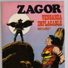 Cómics: ZAGOR. Nº 8. VENGANZA IMPLACABLE. COLECCION ZAGOR. BURU LAN 1971. Lote 279563453