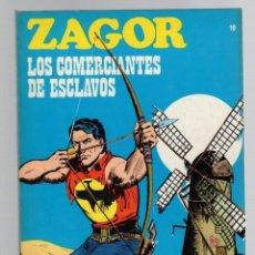 Comics: ZAGOR. Nº 19. LOS COMERCIANTES DE ESCLAVOS. COLECCION ZAGOR. BURU LAN 1971. Lote 279563593