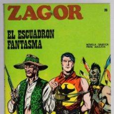 Comics: ZAGOR. Nº 20. EL ESCUADRON FANTASMA. COLECCION ZAGOR. BURU LAN 1971. Lote 279563798