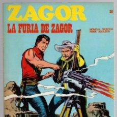 Comics: ZAGOR. Nº 28. LA FURIA DE ZAGOR. COLECCION ZAGOR. BURU LAN 1971. Lote 279563938