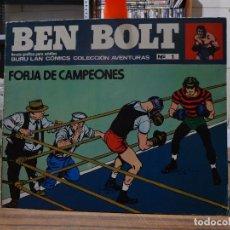Cómics: BEN BOLT - NOVELA GRAFICA PARA ADULTOS BURU LAN COMICS - COMPLETA. Lote 280888633