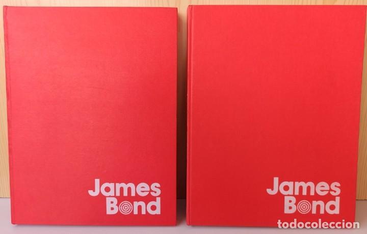 JAMES BOND - COLECCIÓN COMPLETA 2 TOMOS ENCUADERNADOS - EXCELENTE ESTADO - BURULAN - (Tebeos y Comics - Buru-Lan - James Bond)
