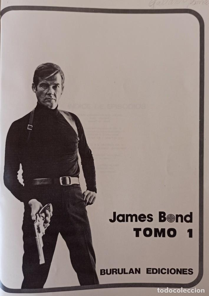Cómics: JAMES BOND - COLECCIÓN COMPLETA 2 TOMOS ENCUADERNADOS - EXCELENTE ESTADO - BURULAN - - Foto 8 - 283357128