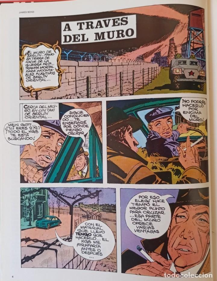 Cómics: JAMES BOND - COLECCIÓN COMPLETA 2 TOMOS ENCUADERNADOS - EXCELENTE ESTADO - BURULAN - - Foto 9 - 283357128