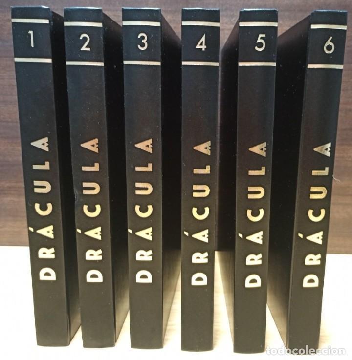 6 TOMOS DRACULA - BURU LAN - EXCELENTE ESTADO DE LIBRERIA. (Tebeos y Comics - Buru-Lan - Drácula)