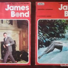 Cómics: JAMES BOND: EL OCTOPODO ASESINO + ROSTRO DE ACERO + SOMBRAS DE ORO + JUEGO PELIGROSO. Lote 283855608