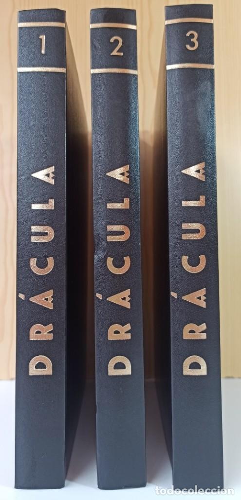 3 TOMOS DRACULA- NUMEROS 1,2 Y 3 - BURU-LAN (Tebeos y Comics - Buru-Lan - Drácula)