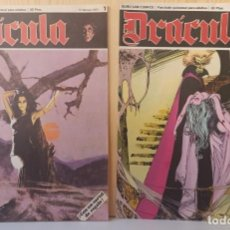 Cómics: DRÁCULA WOLFF AÑO 1970 NUMEROS 1 Y 7 - EDICIONES BURU-LAN. Lote 283940143