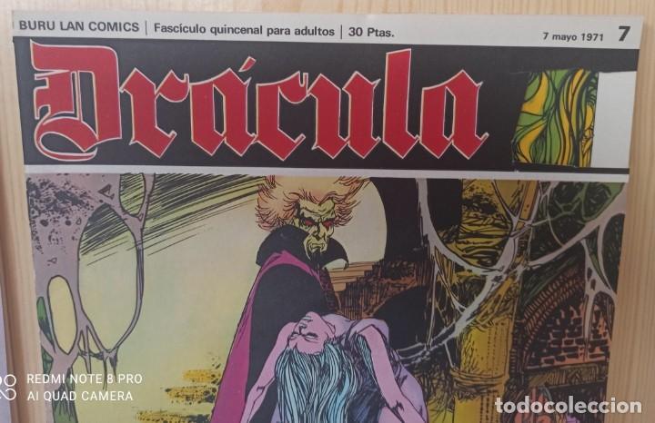 Cómics: DRÁCULA WOLFF AÑO 1970 NUMEROS 1 Y 7 - EDICIONES BURU-LAN - Foto 2 - 283940143