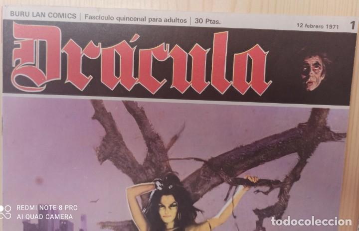 Cómics: DRÁCULA WOLFF AÑO 1970 NUMEROS 1 Y 7 - EDICIONES BURU-LAN - Foto 3 - 283940143