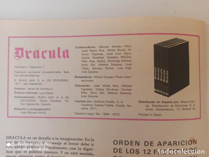 Cómics: DRÁCULA WOLFF AÑO 1970 NUMEROS 1 Y 7 - EDICIONES BURU-LAN - Foto 5 - 283940143