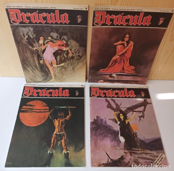 Cómics: DRÁCULA 8 NUMEROS 02,1,3,4,5,6,7,8 - EDICIONES BURU-LAN - Foto 4 - 283969593