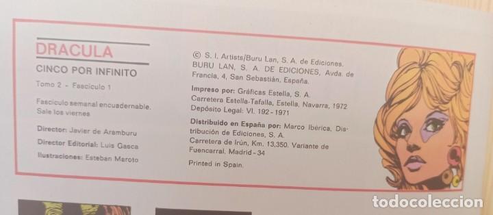 Cómics: DRÁCULA 38 NUMEROS - EDICIONES BURU-LAN - Foto 5 - 283972338