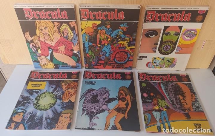 DRÁCULA 30 NUMEROS - EDICIONES BURU-LAN (Tebeos y Comics - Buru-Lan - Drácula)