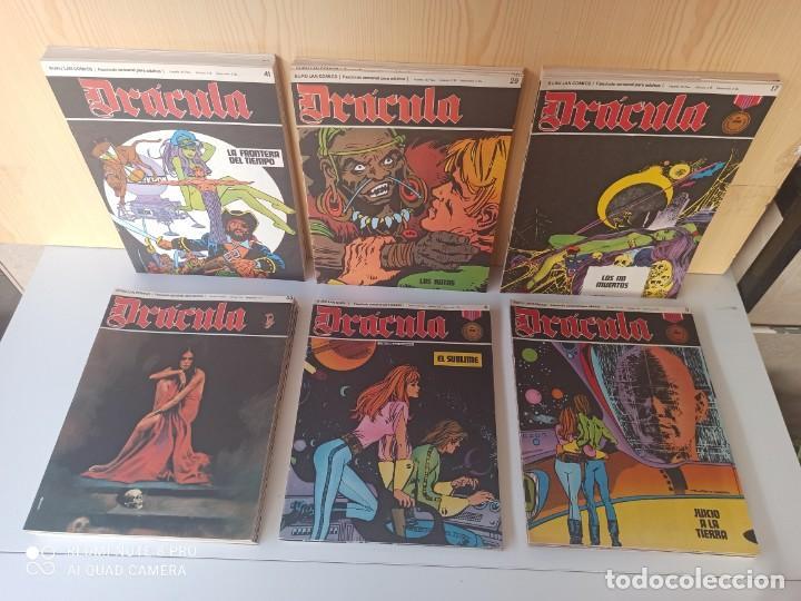 DRÁCULA 53 NUMEROS - EDICIONES BURU-LAN (Tebeos y Comics - Buru-Lan - Drácula)