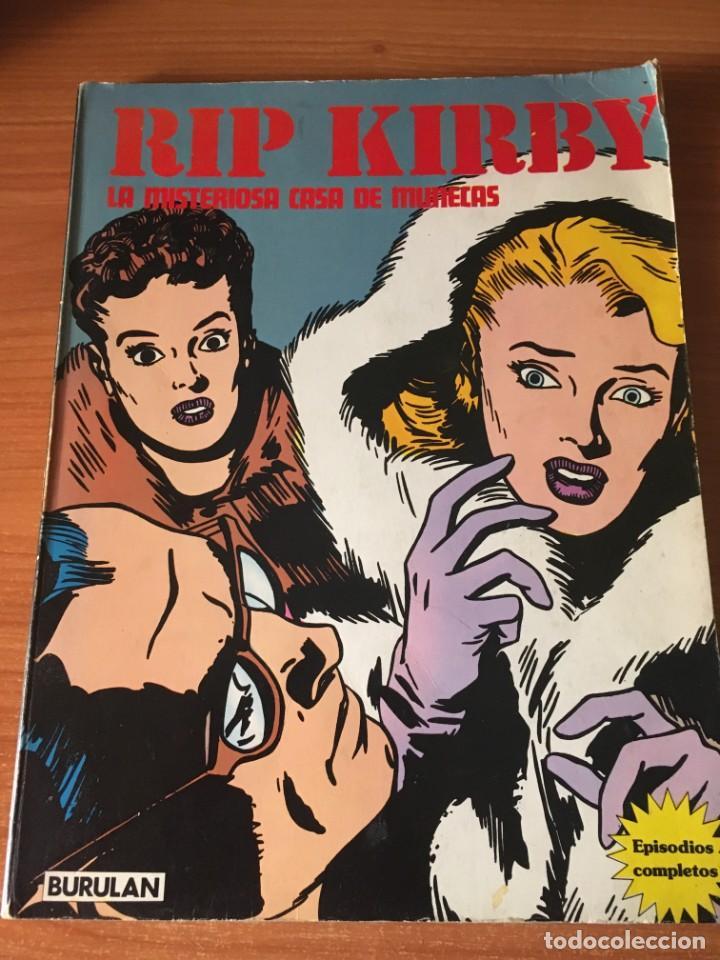 RIP KIRBY. LA MISTERIOSA CASA DE MUÑECAS. BURULAN (1974) (Tebeos y Comics - Buru-Lan - Rip Kirby)