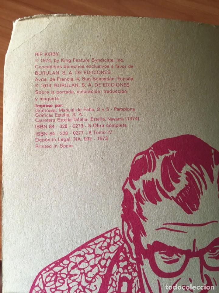 Cómics: RIP KIRBY. LA MISTERIOSA CASA DE MUÑECAS. BURULAN (1974) - Foto 7 - 284233428