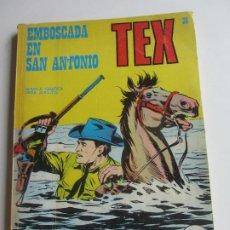 Comics: TEX - Nº 36 EMBOSCADA EN SAN ANTONIO BURU LAN EDICIONES ARX138. Lote 284264718