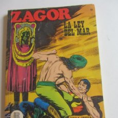 Cómics: ZAGOR Nº 51 LA LEY DEL MAR BURU LAN EDICIONES ARX138. Lote 284265658