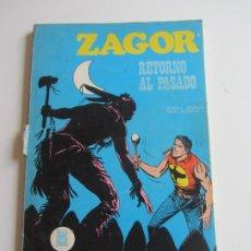 Cómics: ZAGOR Nº 9 RETORNO AL PASADO 1971 BURU LAN EDICIONES ARX138. Lote 284266228
