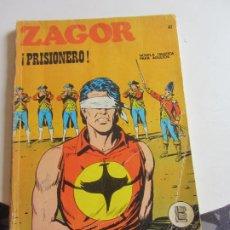 Cómics: ZAGOR Nº 47 - ¡PRISIONERO! 1971 BURU LAN EDICIONES ARX138. Lote 284267553