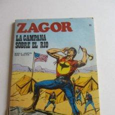 Cómics: ZAGOR Nº 22 - LA CAMPANA SOBRE EL RÍO 1971 BURU LAN EDICIONES ARX138. Lote 284267733
