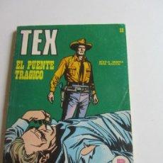 Comics: TEX Nº 32, EL PUENTE TRAGICO 1971 BURU LAN EDICIONES ARX138. Lote 284269728