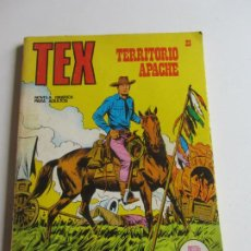 Comics: TEX. Nº 23. TERRITORIO APACHE 1971 BURU LAN EDICIONES ARX138. Lote 284271608