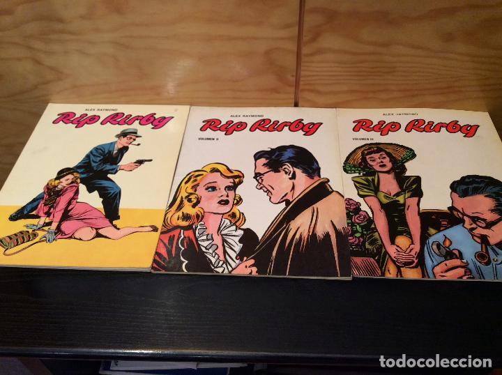 RIP KIRBY EDICIONES B.O 3 VOLUMENES (Tebeos y Comics - Buru-Lan - Rip Kirby)