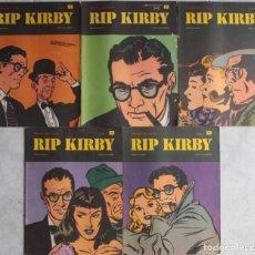 Cómics: LOTE DE 5 COMICS RIP KIRBY / Nº 1 AL 5 / ED. BURU-LAN - REF.113. Lote 285544028